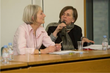 Our Director, Ruth Hayes, with Prof Marjorie Mayo (Emeritus Professor of Community Development, Goldsmiths, University of London)
